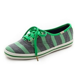 NEW Keds for Kate Spade Kick Striped Sneakers